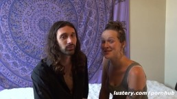 This Couple Believes in Make Love, Not War