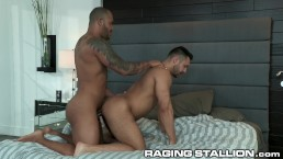 RagingStallion Caught Seth Santoro Getting Fucked By Jason Vario