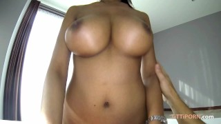 Clip massive big boobs on hot asian thai girl