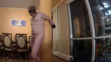Young blond goddess dominate old man Part 3 Escape (Sponsored by Kevin)