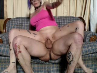smoking while getting fucked