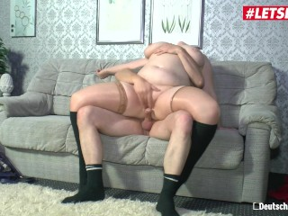 LETSDOEIT – Chubby German Amateur Fucked Hard By Her Uncle