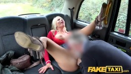 Fake Taxi Rough backseat fuck for sexy Hungarian MILF Tiffany Rousso