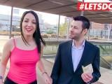 LETSDOEIT - Stranger Fucks With Pornstar For MONEY