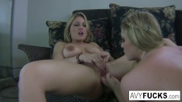 Busty Avy Scott and Aurora Snow Home Vid