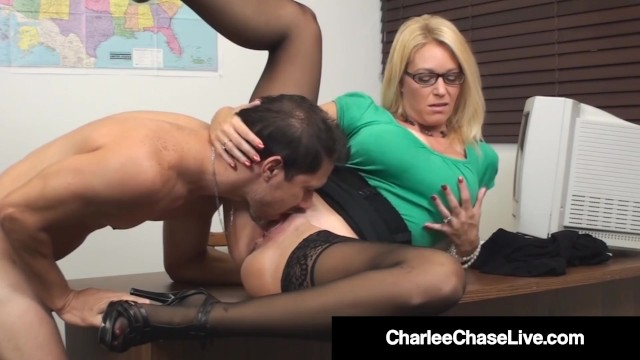 Sex ed teachers fucking Sex ed teacher charlee chase mouth pussy fucks student
