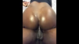 Bubble Booty Riding Straight Homie Big Black Dick