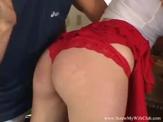 Blonde MILF Swinger Natural Cuckold