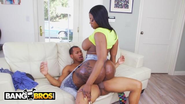 Big and black ass Bangbros - ricky johnson jams his big black dick into victoria cheeks