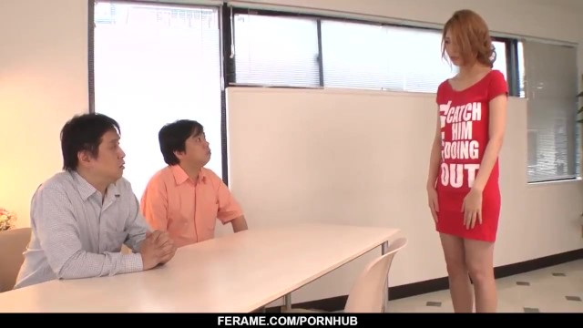 Kanako Kimura tries a stiff dong in her tiny mouth - - More at Slurpjp.com 11