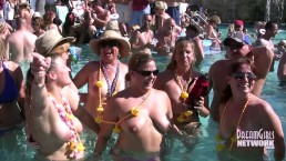 Private Home Video Of Swingers Partying Naked In A Pool