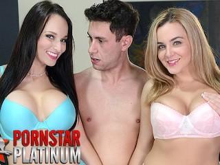 nikita mirzani - Threesome with big tit pornstars Lexi Luna and Natasha Nice