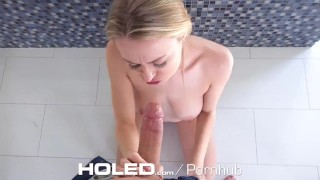 HOLED After Bath Anal Aftermath With Messy Facial