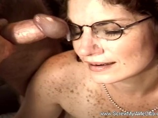 Threesome For Hotwife Swinger