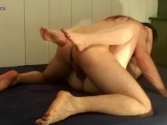 Making him cum hard inside me, guy moaning, intense guy orgasm