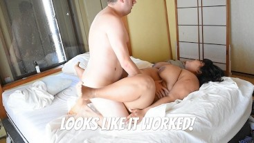 BBW Mila getting him OFF the phone and INTO her pussy! Pounded!