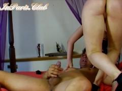 Deep Anal Fucking - Big TIt PAWG MILF Takes Big Dick Deep In Her Ass
