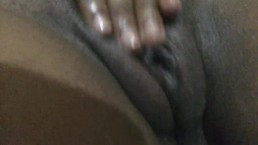Squirting black pussy