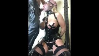 Rebecca more Hard core fetish deep gag submissive