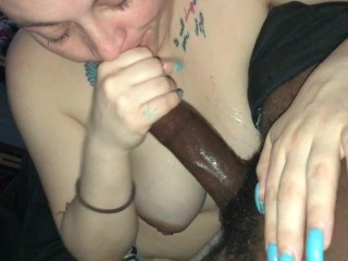 Sexy Slut Couldn't stop sucking my Dick