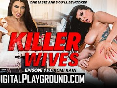 Digital Playground - Big tit house wife Romi Rain gets kinky and breaks in