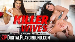 Digital Playground - Big tit house wife Romi Rain gets kinky and breaks in
