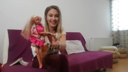 Little preview of Tanya farting on Barbie doll