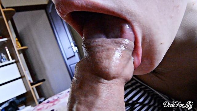 Sensitive and Fabulously Licks Tongue and Lips Foreskin Day 6 M&M