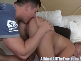 Amateur blonde payton simmons licked at all anal...