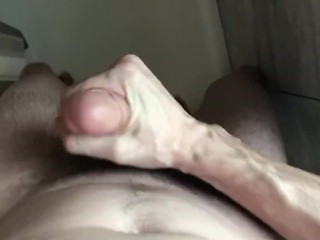 Jerking off in the shower some more