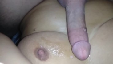 Amateur tinder milf grinds on my dick till she cums and is fucked like dog