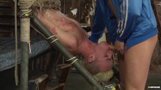Izan Loren likes it rough with Deacon Hunter