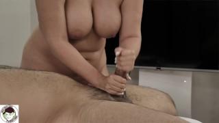 Natural Woman Gives Relaxing Sensual Handjob