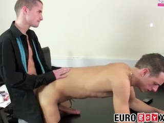 Office ks assfuck during after hours foursome...