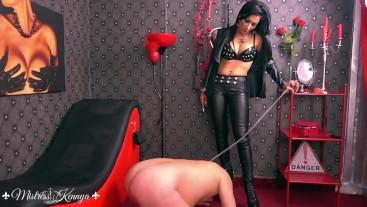 Mistress Kennya: A painful worship