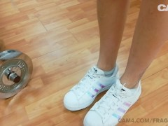 Cam4 fragile7883 pierced italian babe masturbates and squirts at the gym | Recorded Cam Show