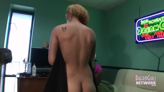 4 Girl interracial Shower Super Hot 41