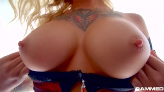 Rammed - Kleio Valentien RAW anal with a BBC