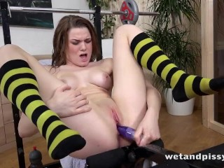 Becky Berry Can't Stop Squirting