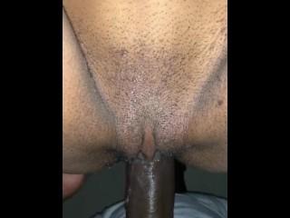 Wet creampie