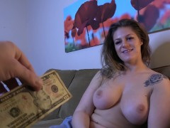 Neighbor's Girlfriend Paid to Queef Out My Creampie