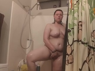 Shower time turn in to play time