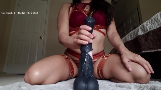 Interacial sex poll Poll win: bad dragon horse cock fucking my ass