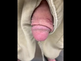 Showing off my cock while inebriated