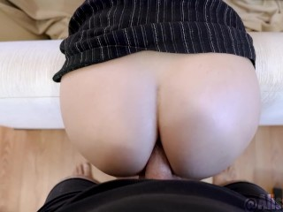 daughter gets fucked ass to pussy by stepdad - Alissa Avni