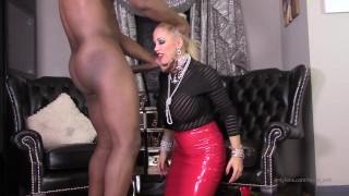 Rebecca more Blowjob black man
