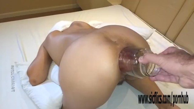 Double Fisting Her Greedy Brazilian Ass