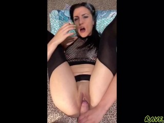 POV pussy play and sex - smoking girl fetish (you cum too quick for me)