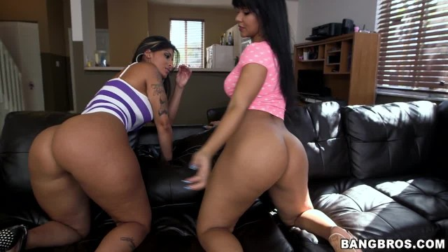 BANGBROS - Welcome to Booty Land Wth Latinas Spicy J and Rose Monroe