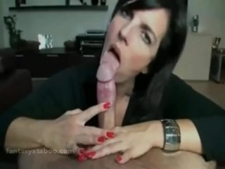 Mom son sex blowing